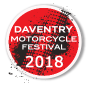 Daventry Motorcycle Festival 2018 Logo
