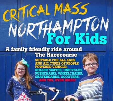 Critical mass, for kids, cycling