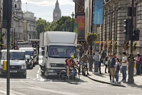 safe urban driving course town centre vulnerable road users