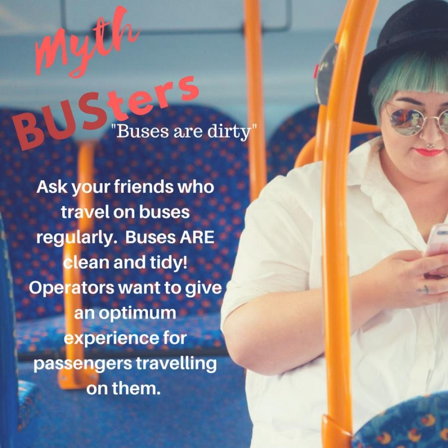 Mythbusters: Buses are dirty