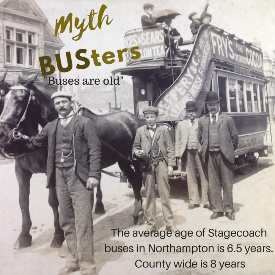 Mythbusters: Buses are old