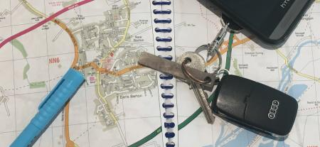 Keys and Map Side Image