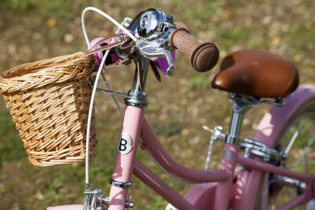 Pink Child's Bicycle