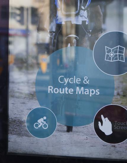 Northamptonshire Cycle Maps on Totem homescreen