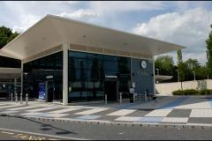 Photo of new railway station in Corby