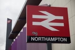 Northampton Railway Station sign